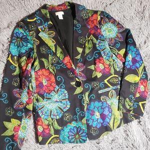Chico's blazer bright colored P